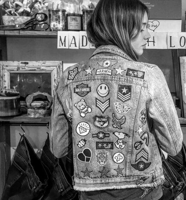 Denim Jacket patch                                                                                                                                                                                 More