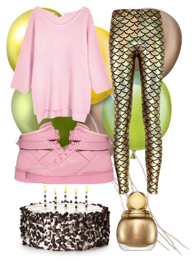 birthday party by slytheriner on Polyvore featuring Duffy and Moschino