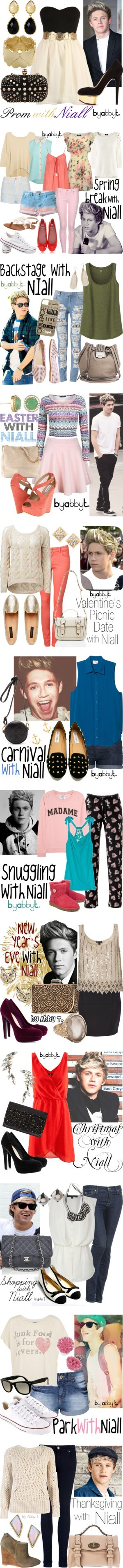 """""""Niall Horan Inspired Fashion"""" by abbytamase on Polyvore"""