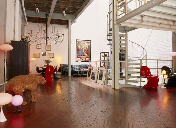 Loft a Soho Arredare con stile e originalità. Eleganza informale in un'ex officina industriale