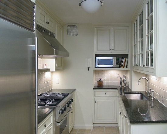 cupboard with shelf for microwave