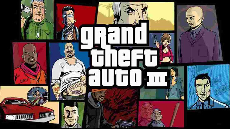 Grand theft auto GTA 3 Highly Compressed in 1 MB