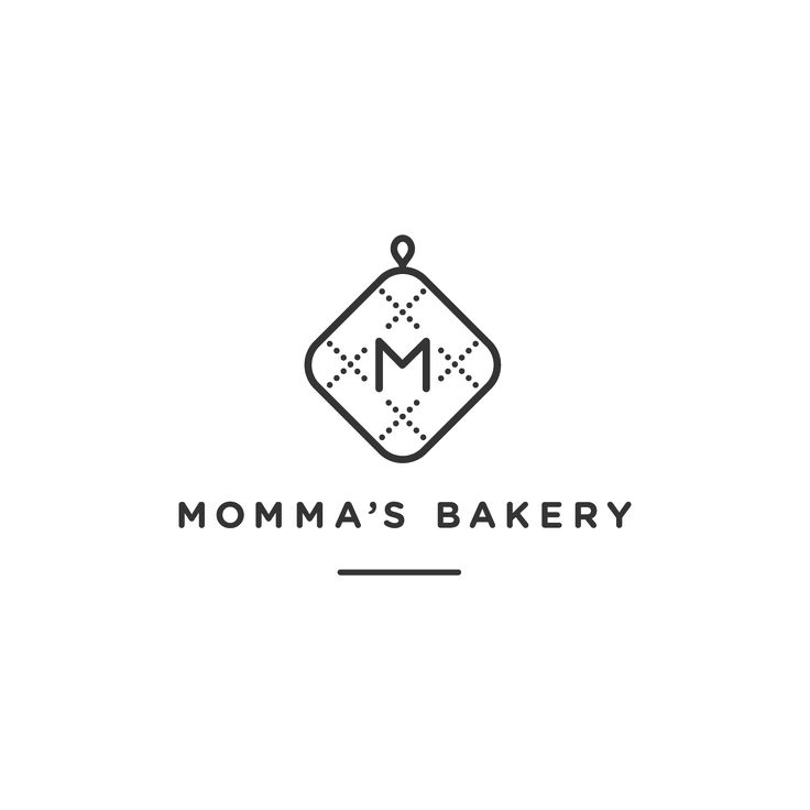 Mommas Bakery Logo by Cast Iron Design                                                                                                                                                                                 More