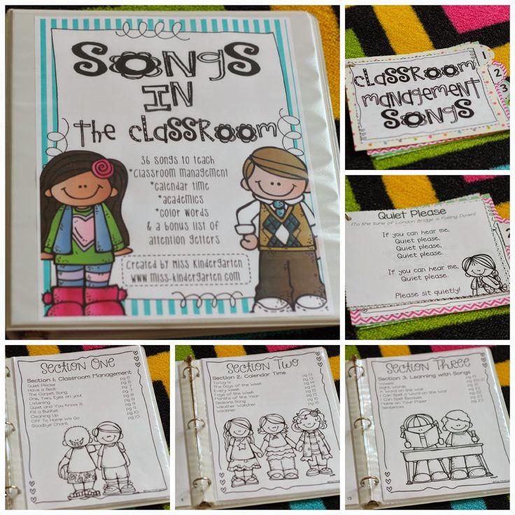 Miss Kindergarten: songs