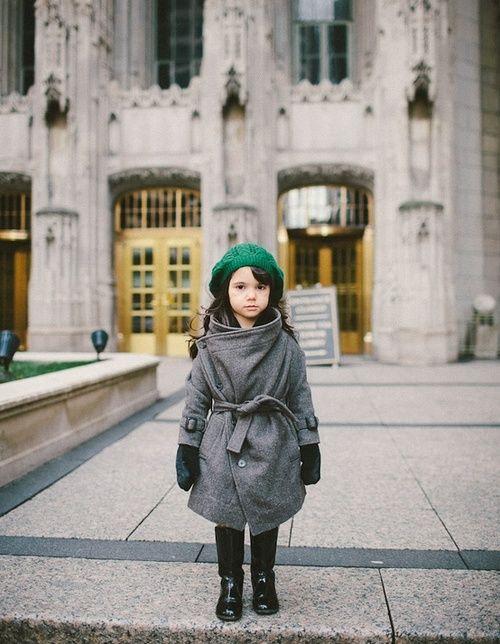 her little coat!