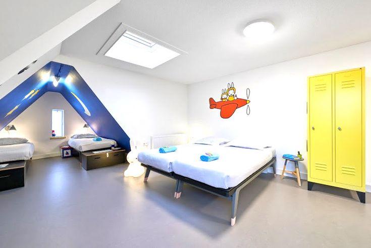 Heb je een weekend Utrecht gepland met je kinderen? Dan is een nachtje slapen in de Nijntje Familie kamer een must! Hostelketen Stayokay heeftsinds nu een nijntje-kamer in het onlangs geopende Stayokay Utrecht-Centrum aan de Neude. De kamer staat volledig in het teken van nijntje, het ...