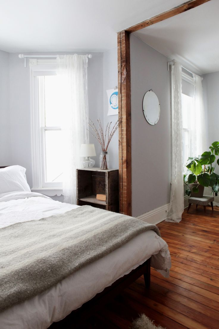 MacAusland Blanktet featured in White Elephant owner Hollie's beatutiful home - A Bay-and-Gable Home in Ontario's Arts & Culture Hub   Design*Sponge