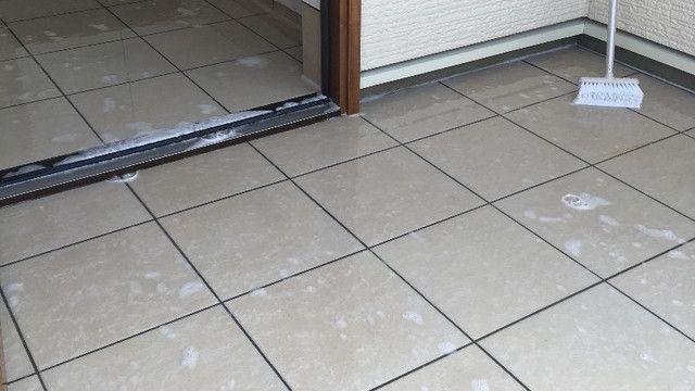 オキシクリーン活用法第2弾 W オキシクリーン 玄関 掃除 リミア