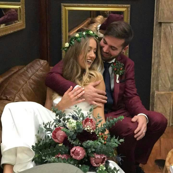 Charles and Allie on their Wedding Day March 11, 2017