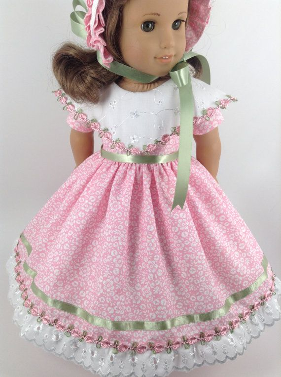 American Girl 18inch Doll Clothes Floral by HFDollBoutique