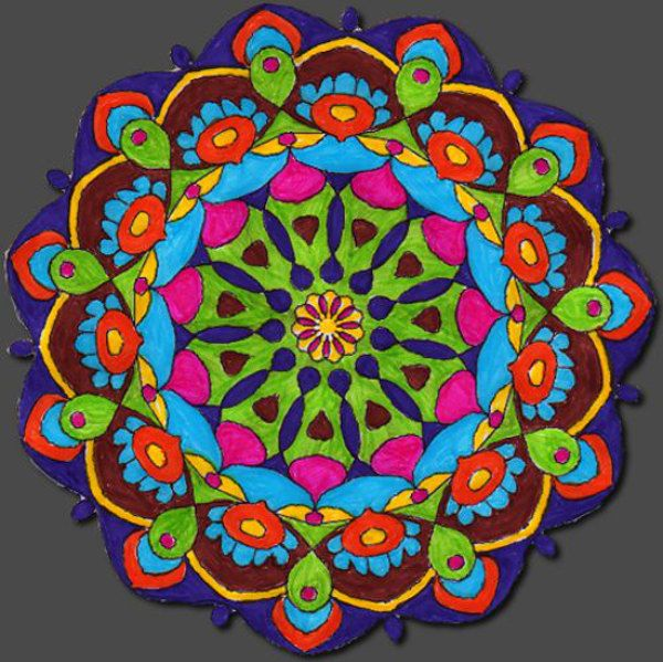 how to use mandalas in art therapy