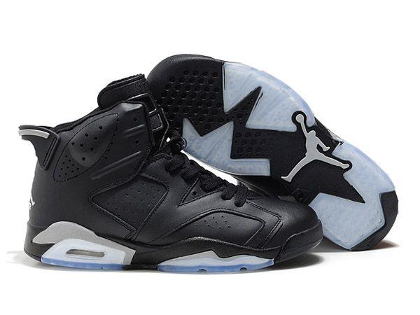 Retro Homme Air Jordan 6 Gris/Noir