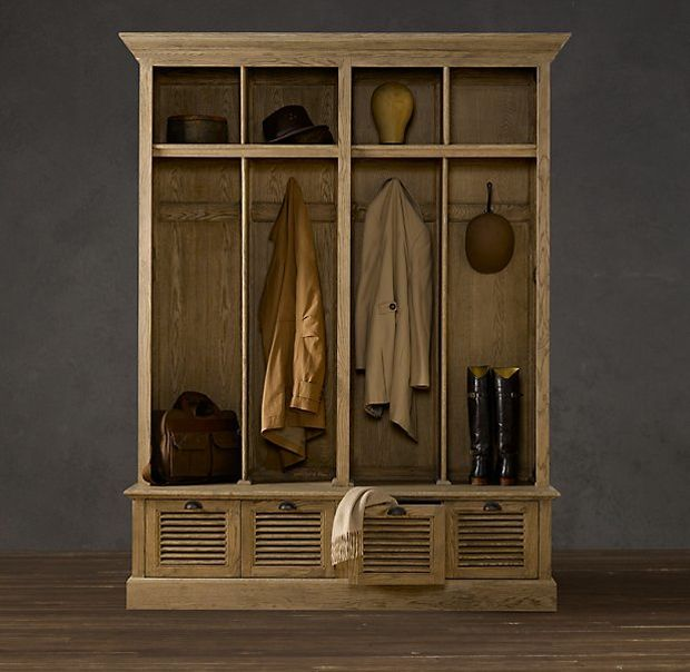 Wardrobe cabinet by restoration hardware home and - Restoration hardware cabinets ...