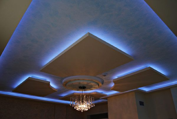 Modern Ceilings With Hidden Lighting Features by Irena Ivanova