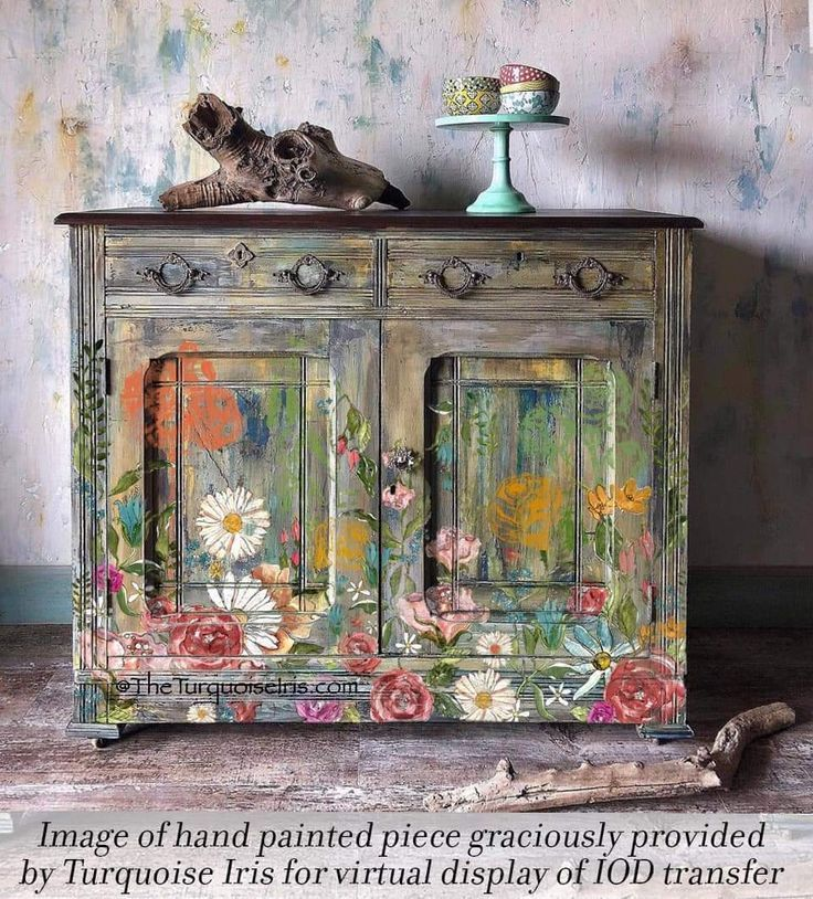 Iod Wander 24x33 Decor Transfer 28 90 The Withered Barn In 2020 Iron Orchid Designs Paint Furniture Funky Furniture