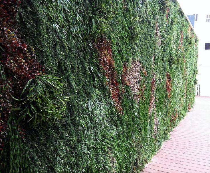 #Jardín Vertical Artificial para Hotel de Gandía