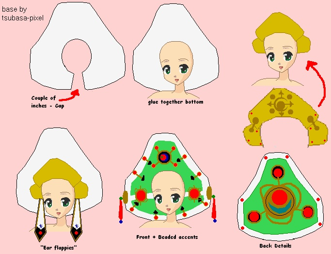 Hat guide~ Seth Nightroad ~ Trinity Blood