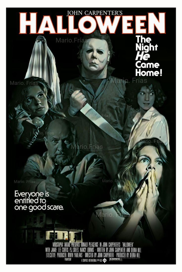 Halloween 1978 John Carpenter Horror Movie Slasher Fan Made Edit By Mario.Frias