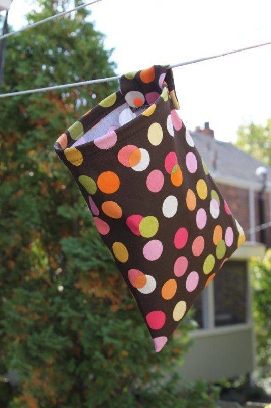 Clothespin Bag with snaps