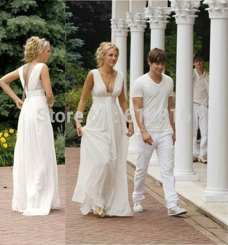 Gossip girl white dress