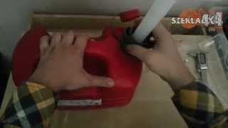 Pressol Kanister na benzynę - paliwo z poręcznym wkręcanym lejkiem