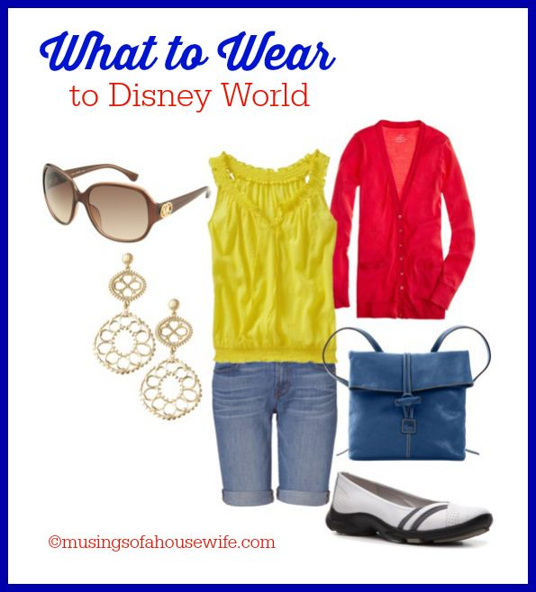 What To Wear To Disney World - Be cute and comfy as you stroll the parks with my style advice!