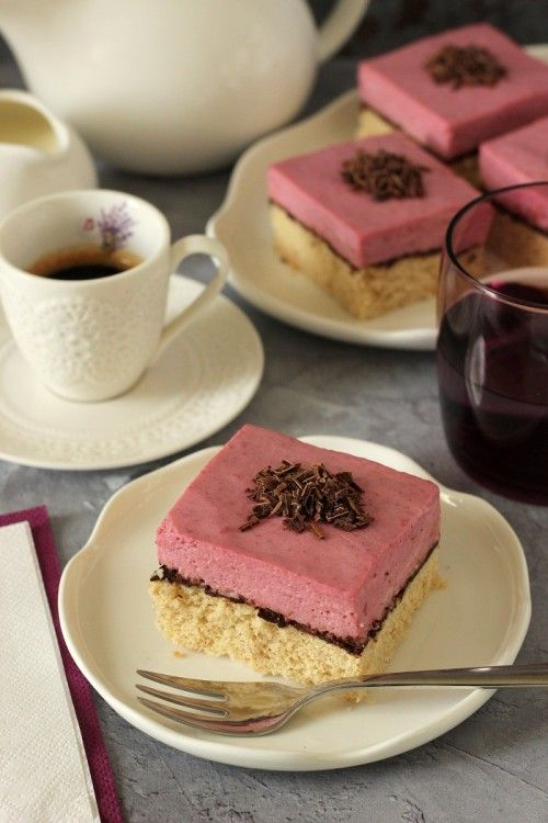 Málnapudingos-csokoládés tönkölyszelet recept