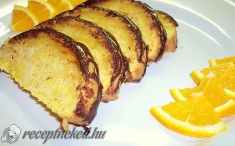 Narancsos-sütőtökös sütemény recept fotóval