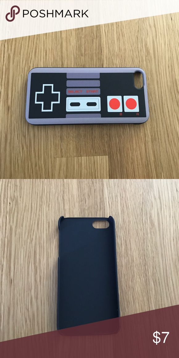 Original Nintendo control iPhone 5/5s hard case. Who had the original NES?!  How many hours did you waste trying to rescue the stupid princess?!  Relive your childhood with this iPhone 5/5s hard cover case. Accessories Phone Cases