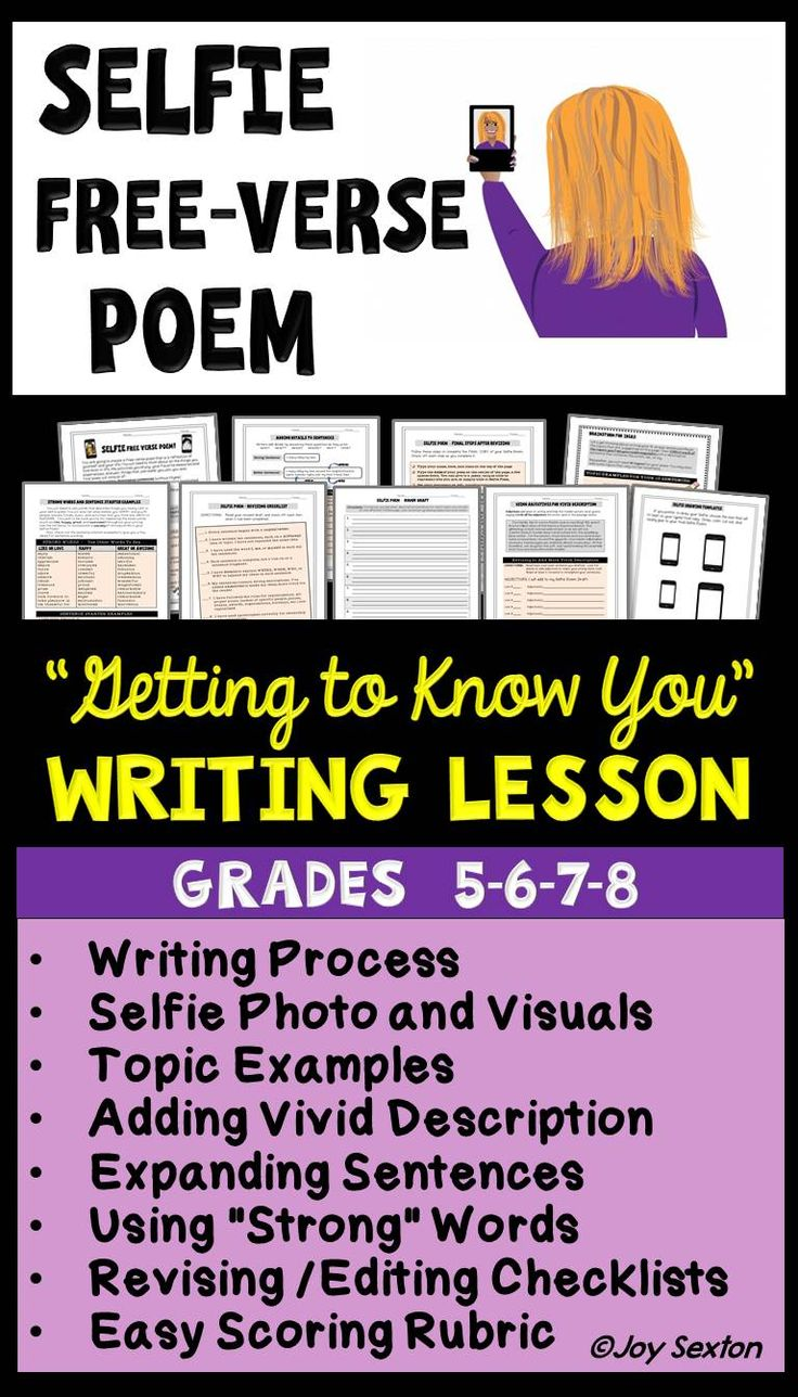 Third Grade Poetry Worksheets and Printables