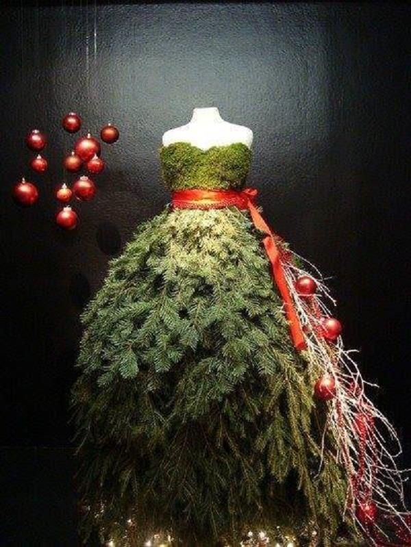 """Christmas dress!I would have a sign that says """"You Wear the Holidays Well!"""""""
