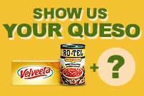 Chili cheese dip recipe with zesty chunks of tomato and green chilies.    Velveeta® is a registered trademark of Kraft Foods, Inc.   Ro*Tel® and Wolf® Brand are registered trademarks of ConAgra Foods RDM, Inc.