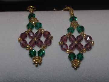 Earrings, available in many colors $20.00