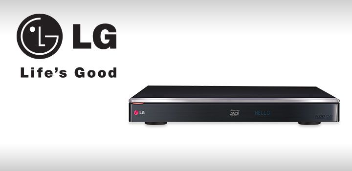 Get a Blu-ray player and 3D recorder in one with the LG Blu-ray Recorder!