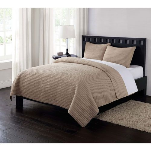 London Fog Garment Washed Crinkle King Quilt Set in Khaki - (In No Image Available)