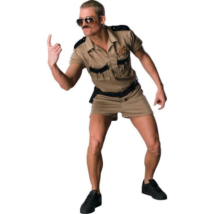 Reno 911 Lt Dangle Standard Halloween Costume for Men - One Size Fits All