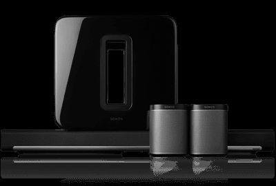 5.1 Wireless Surround Sound Package
