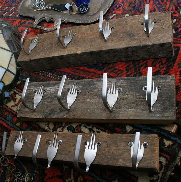 Fork Coat Hangers