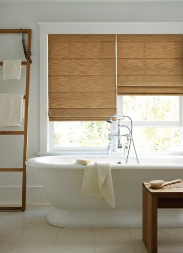 #relaxation is key when you are ready to #winddown. Bring #nature in with #wood #shades