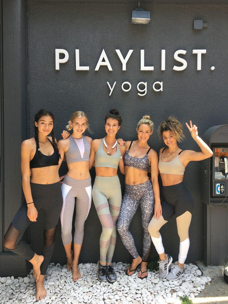 #inflowstyle x Onzie event @ Playlist Yoga.