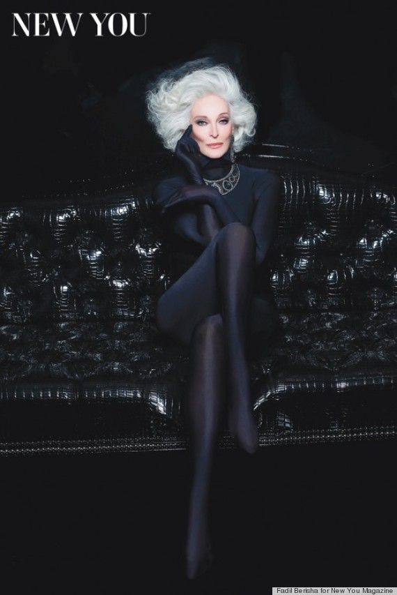 82-Year-Old Supermodel Still Stuns And Admits 'I'm Still Figuring Out How To Do The Job' -- Carmen Dell'Orefice
