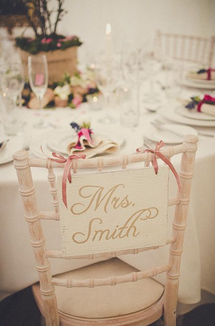 sign made to order by rodgersandenglish.co.uk, the wedding affair at newburgh priory image by laura calderwood photography