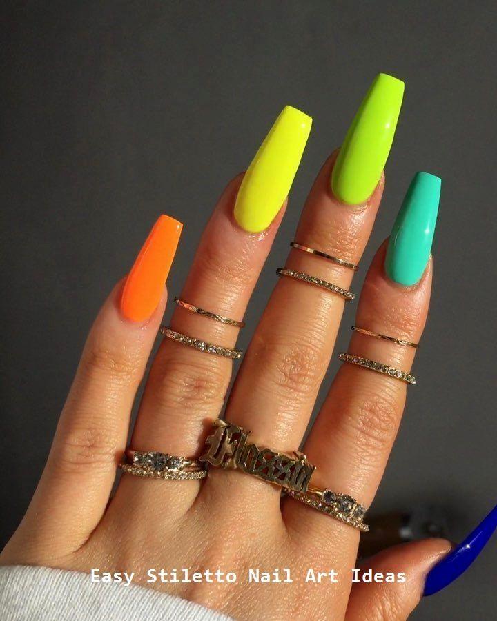 30 Ideen für ein großartiges Stiletto-Nageldesign #stilettonails #nailideas – Stiletto Style Nails