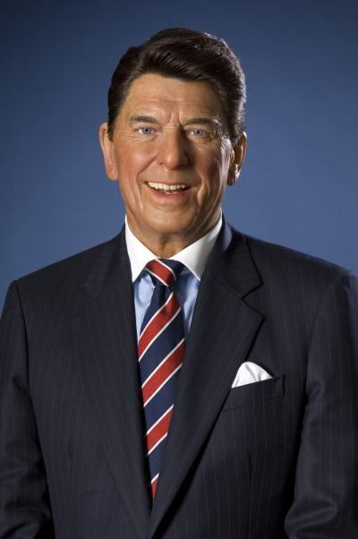 United States Presidents Gallery at Madame Tussauds DC: Ronald Reagan