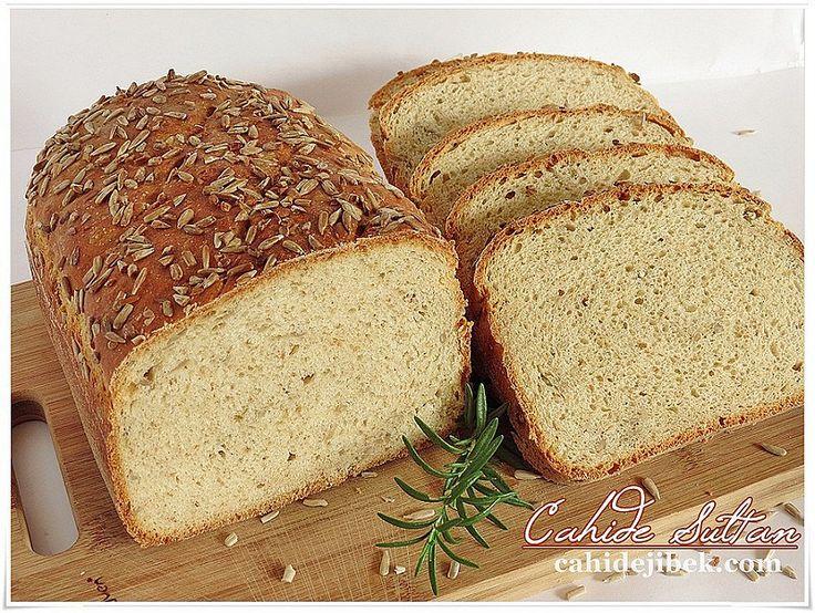 ayçiçekli ekmek