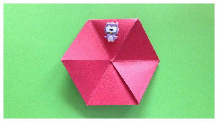 Flexagon | origami magic | indoor games for kids
