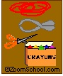Birch Bark Canoe Craft - Enchanted Learning Software  For week 7; needed a little more visual than the manual provided