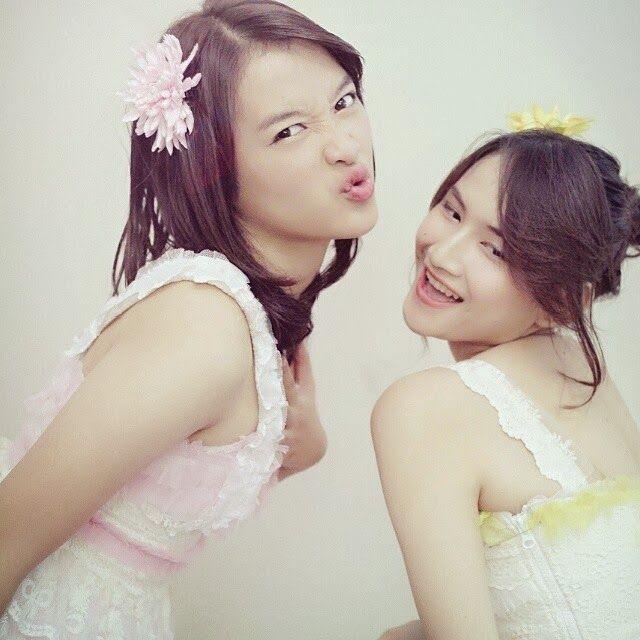 Devi Kinal Putri, Frieska Anastasia Laksani #JKT48 #AKB48