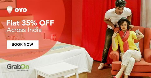 Traveling to A New City? Need Economical #Hotel Rooms? Try This! Get Flat 35% Off On #OYORooms Across India. http://www.grabon.in/oyorooms-coupons/