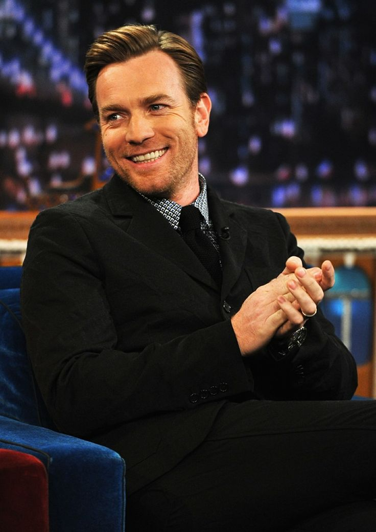 Ewan McGregor. Christian in 'Moulin Rouge!', young Edward Bloom in 'Big Fish'.